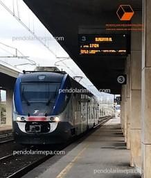 Stazione di Milazzo binario 3