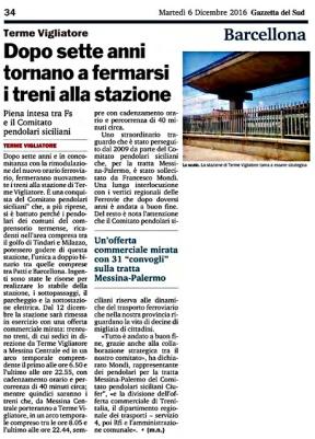 06dicembre 2016_A Terme Vigliatore dopo 7 anni tornano a fermarsi i treni